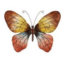 Big Rainforest Butterfly Metal Wall Art Decor Sculpture