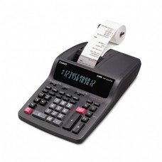 Casio DR-250TM Two-Color Desktop Calculator, 12-Digit Digitron, Black/Red